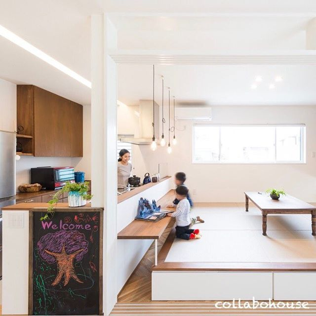 Japanese Kitchen Decor: House Kitchen Interior Idea