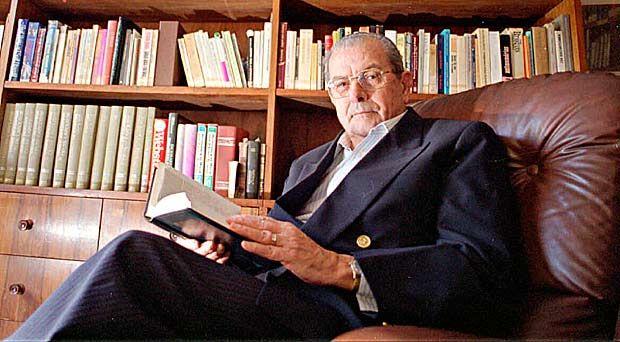 Ex-senador Jarbas Passarinho no escritório de sua casa em Brasília.*** NÃO UTILIZAR SEM ANTES CHECAR CRÉDITO E LEGENDA***