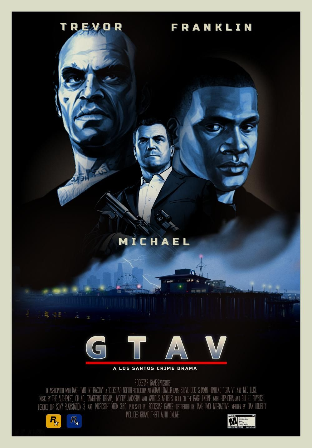 Gta V The Movie Gta Grand Theft Auto Series Grand Theft Auto Artwork