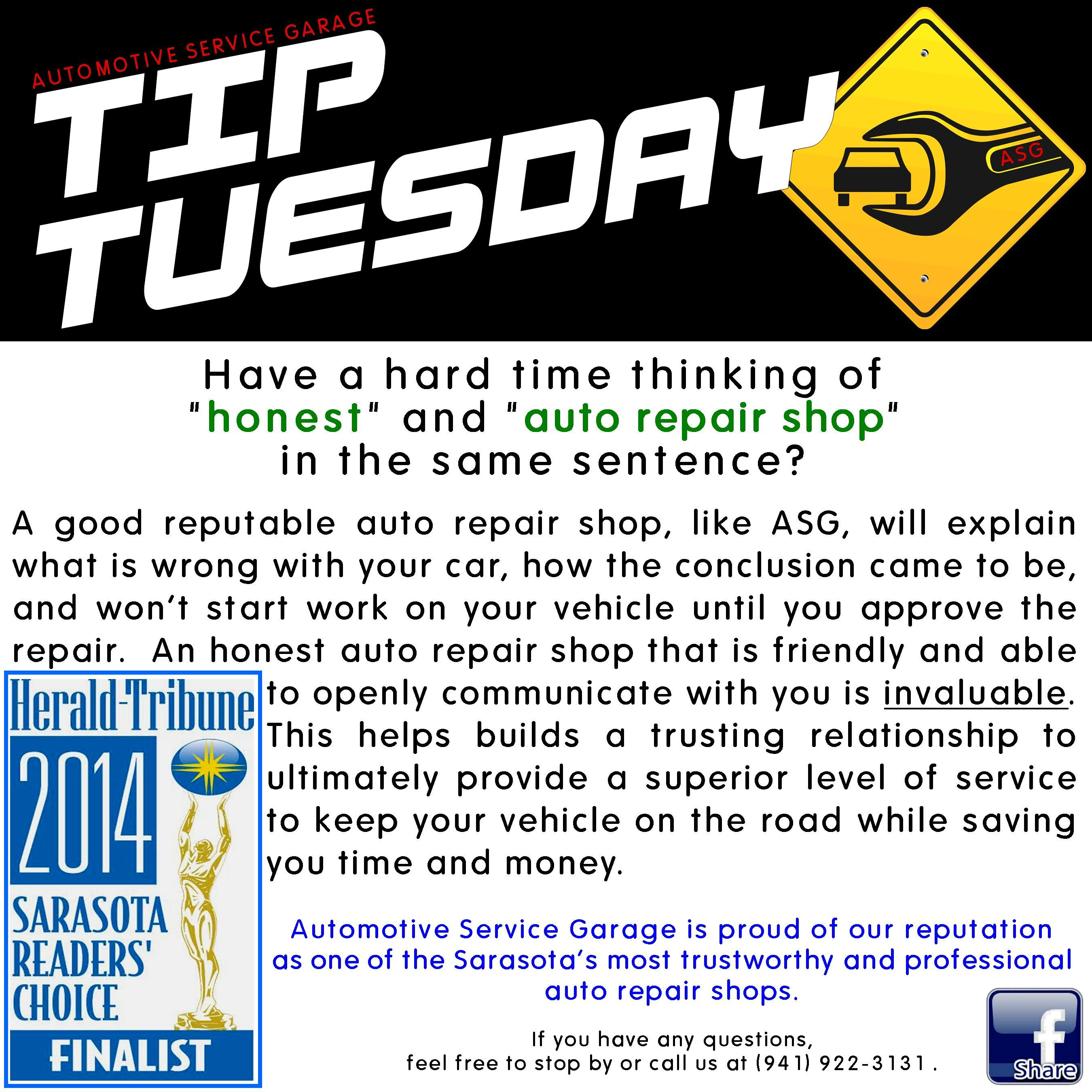Car Car Tip Find A Repair Shop Before You Need One It Sounds