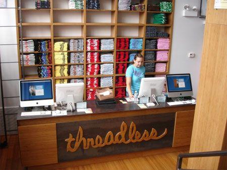 Threadless Chicago Store Print Shop Design Store Design Boutique Decor