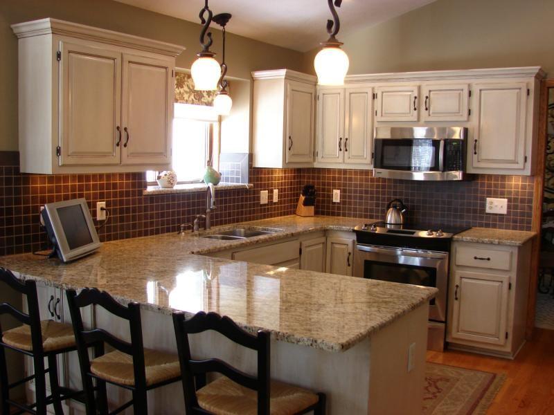 Complete kitchen update this transformation included 25 for Update white kitchen cabinets