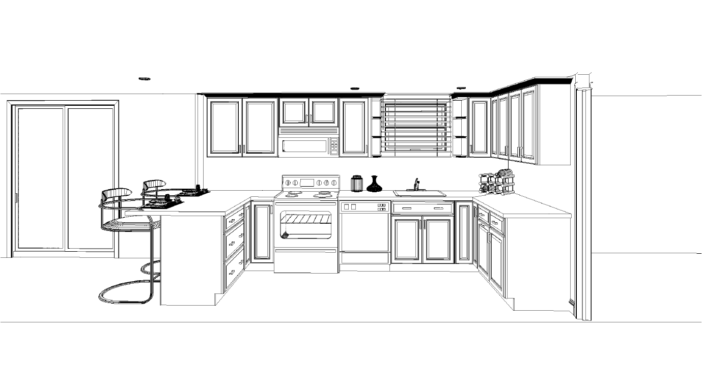 Fascinating 10 X 8 Kitchen Layout\ : Kitchen Cabis Measurement Design And  Layout Houseaxion 10 X 8 Kitchen Layout 10 X 8 Kitchen Plans