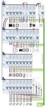 Schema D Installation De Montage Et De Raccordement D Un Tableau Electrique D Une Maison Branchement Tableau Electrique