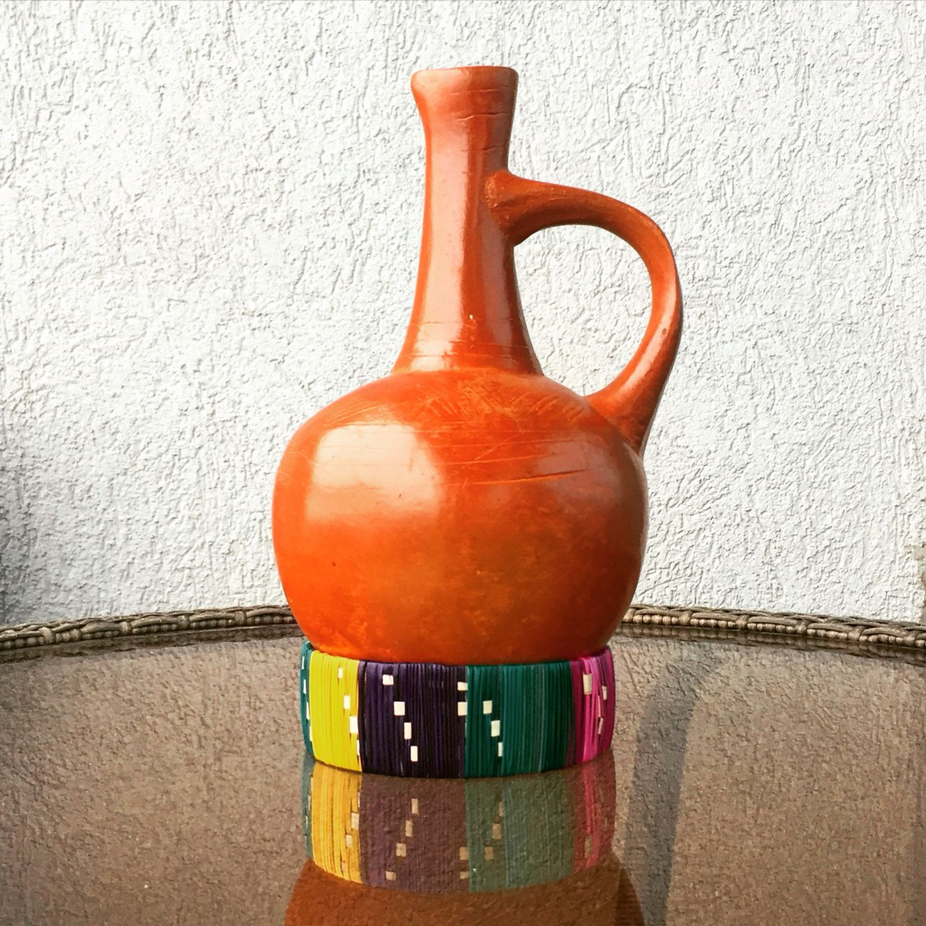 Traditional Ethiopian And Eritrean Coffee Pot Used In The