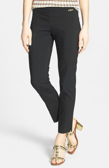'Callie' Seamed Crop Pants