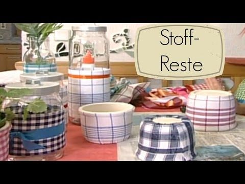 dekostoffe und stoffreste basteln mit stoff youtube diy pinterest youtube. Black Bedroom Furniture Sets. Home Design Ideas