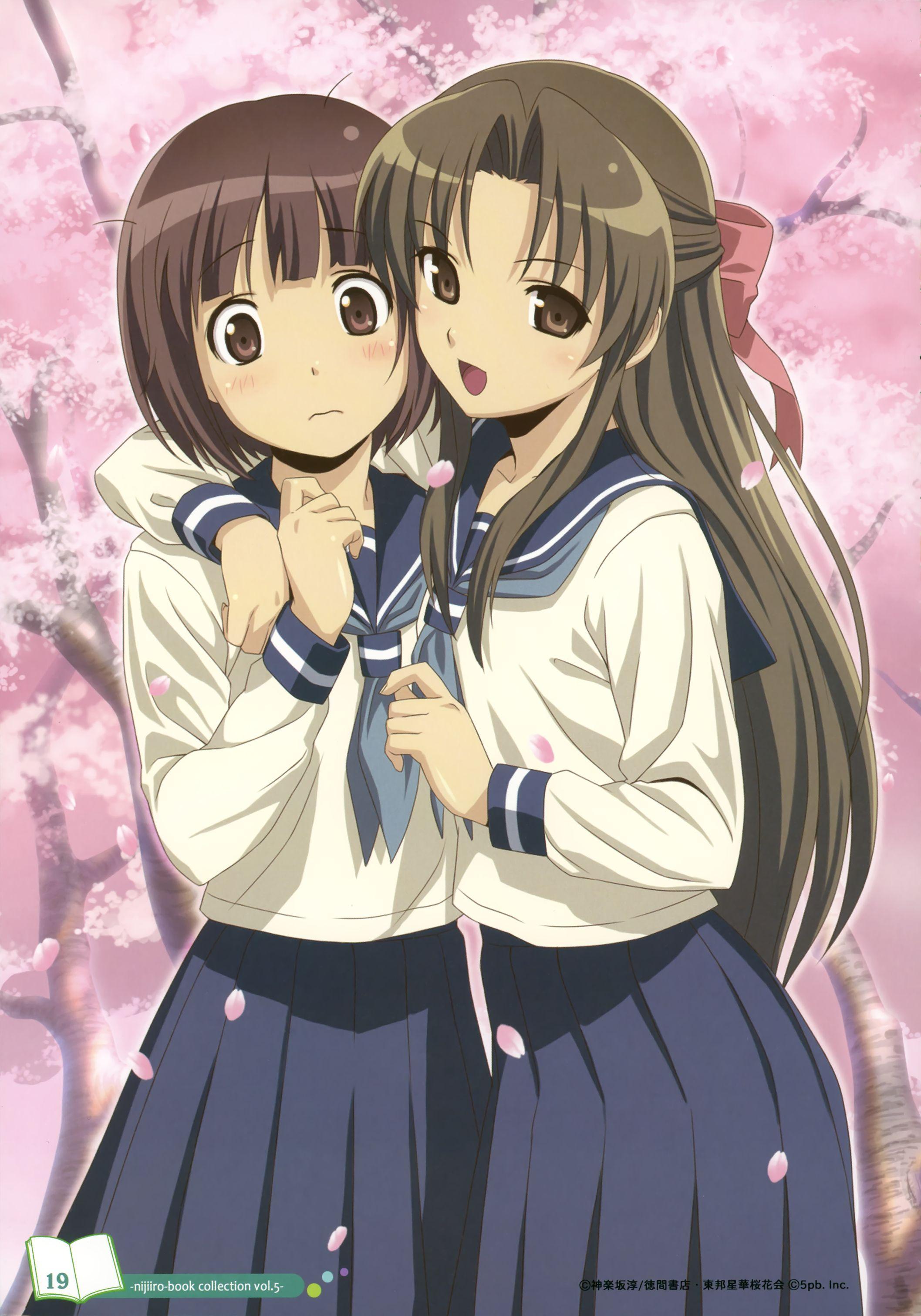 Yuri couple anime