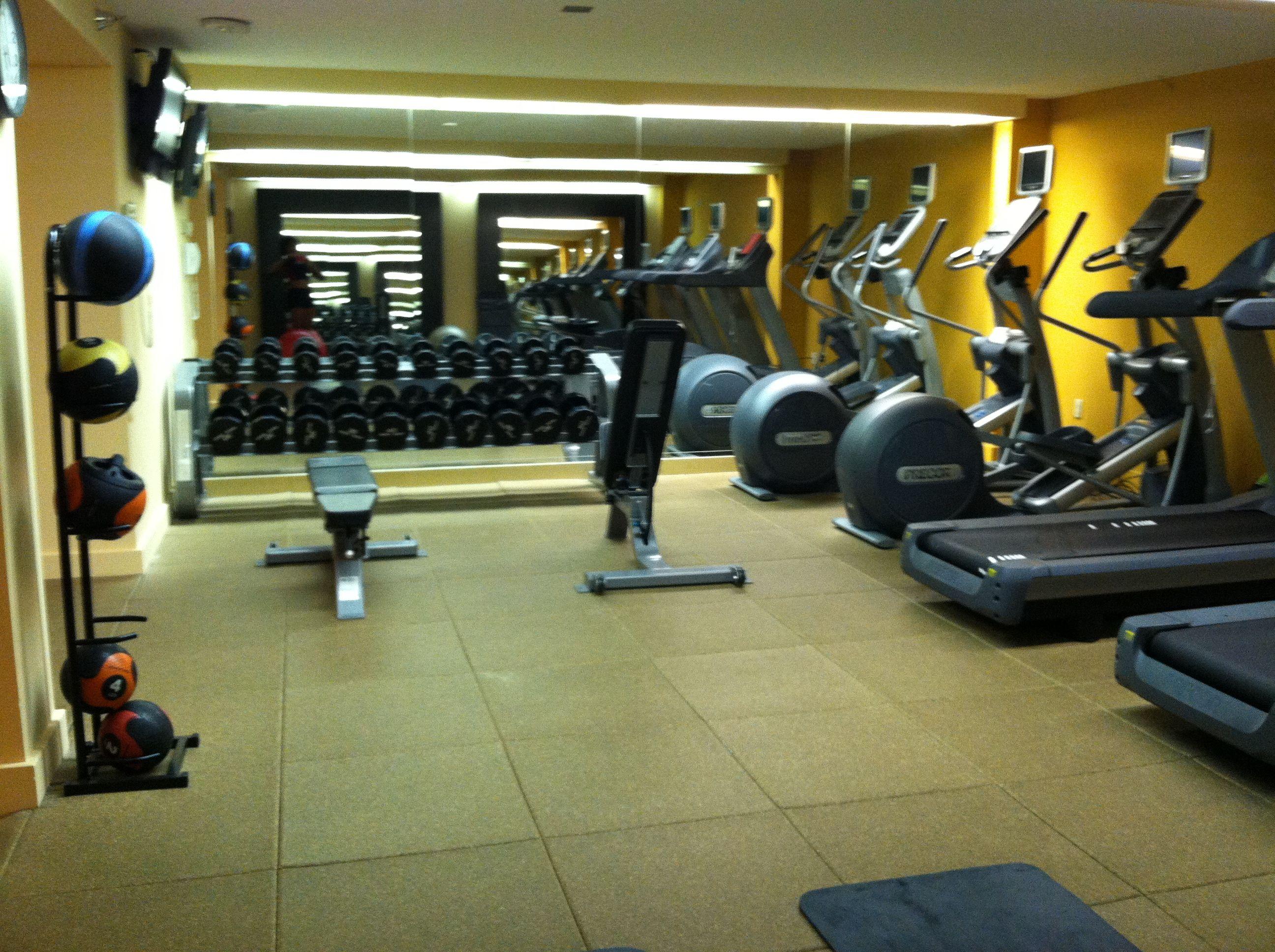 Hilton Tampa Airport Westshore Tampa Fl Hotel Gym Tampa Airport Gym