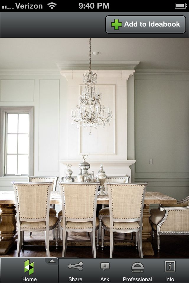 Rustic Table Elegant Chairs Dining Room Idea Found On Www Houzz Com Dining Room French Beautiful Dining Rooms Traditional Dining Room