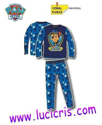 Pijama Niño PATRULLA CANINA Coralina CHASE - Lucicris.com
