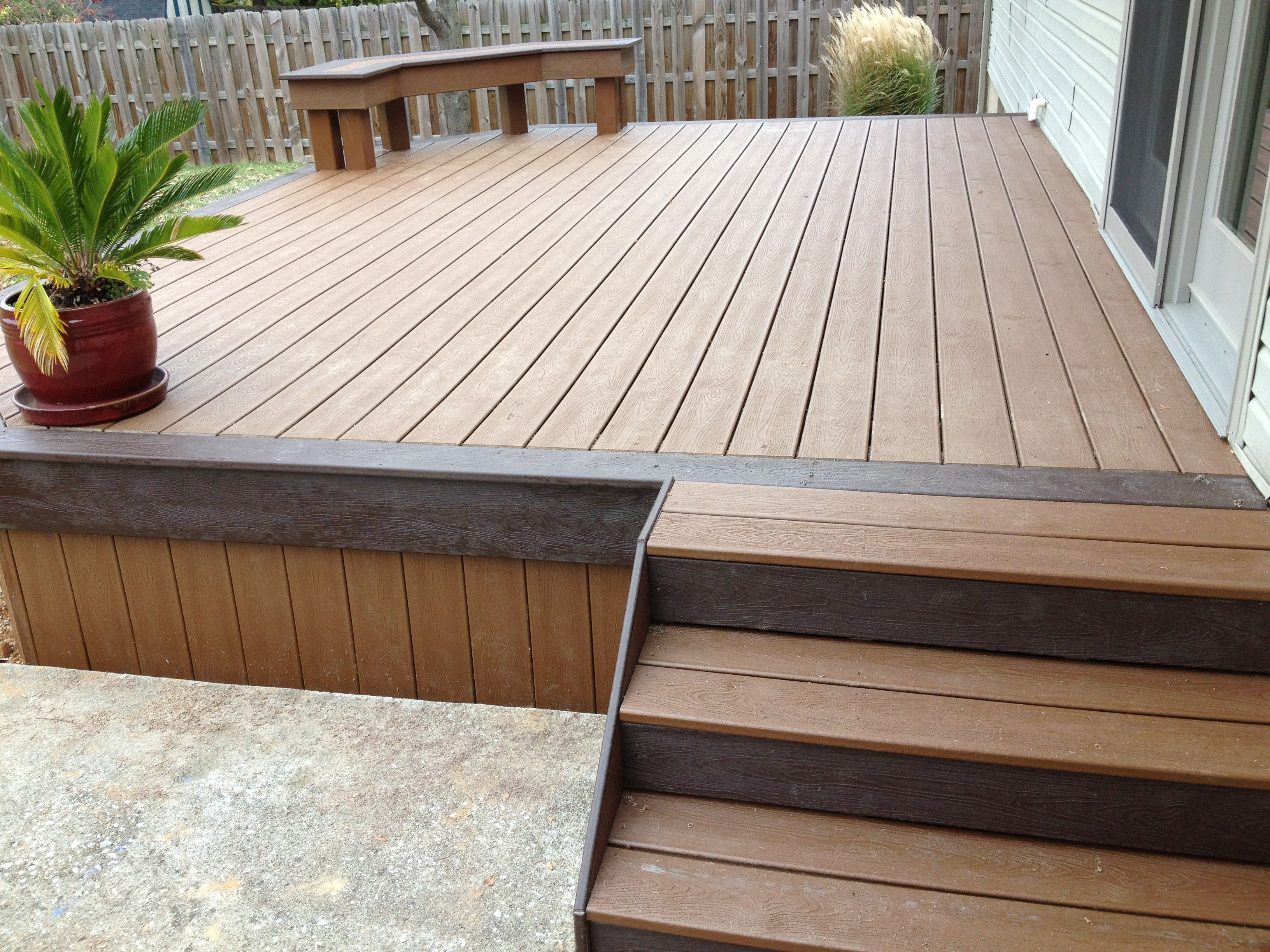 Trex Transcends Decking With A Transferable 25 Year Waranty And Tigerclaw Stainless Steel Hidden Fasteners Deck Design Deck Pergola Plans Design