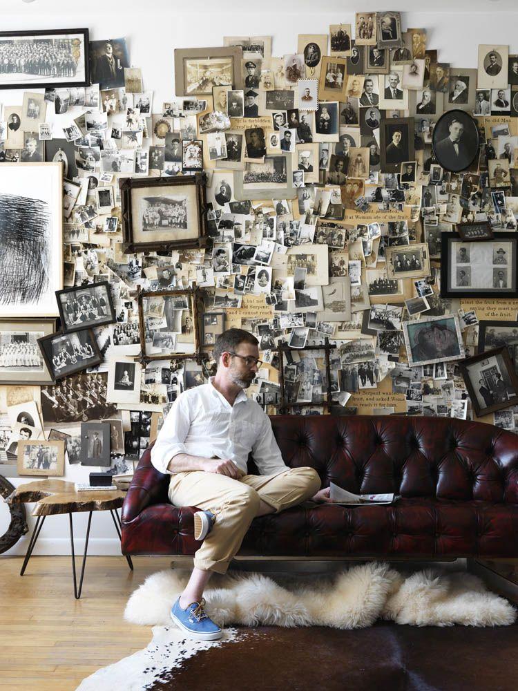 Jonny Valian interiors portefolio #wallcollage