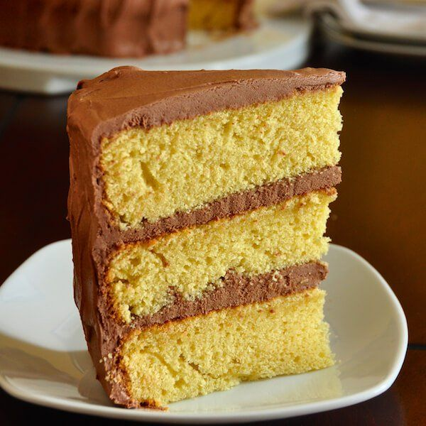 The Best Yellow Cake Recipe Homemade from Scratch Recipe