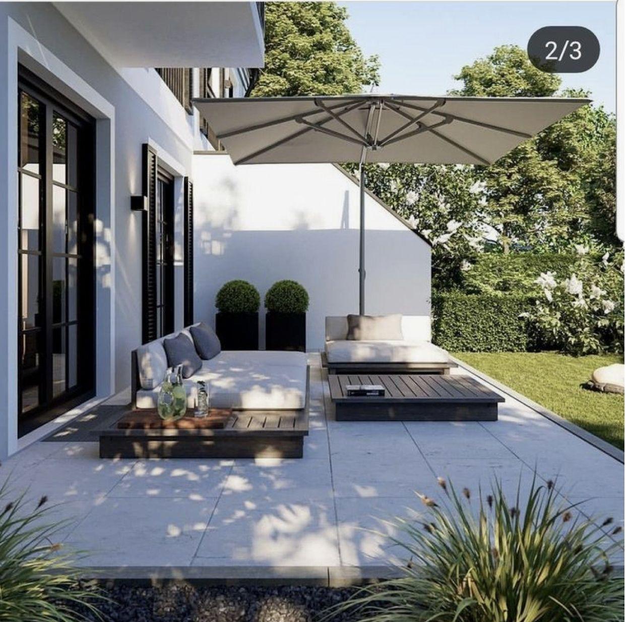 Pin Von Nabou Diaw Auf Ogrod In 2020 Garten Landschaftsbau Hintergarten Gartengestaltung