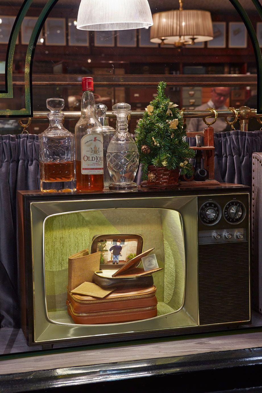 Anya Hindmarch Bespoke Pont Street Vintage Television Sets