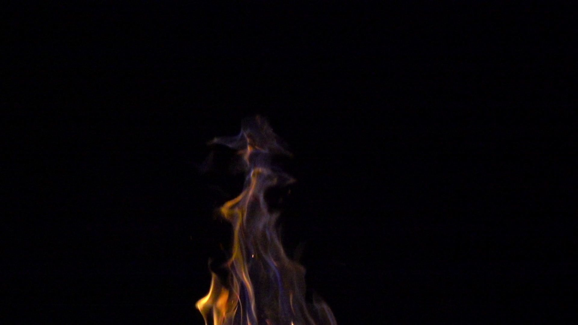 Top Of Burning Fire With Blue Smoke On Black Background 8x 240 Fps Slow Motion Stock Footage Blue Smoke Black To Black Backgrounds Sale Decoration Background