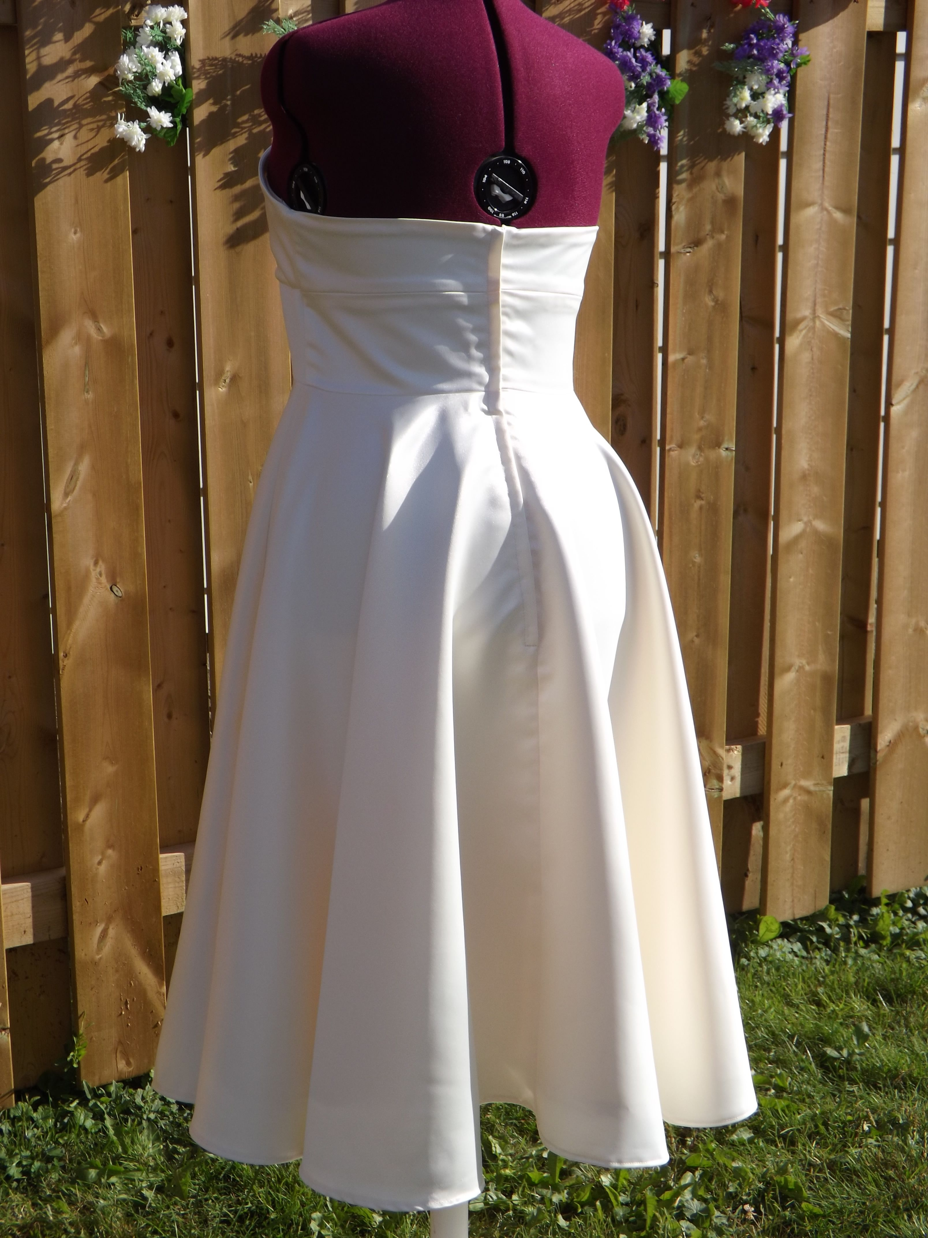 Beautiful Custom Made Wedding Prom Dress Created By Catherine