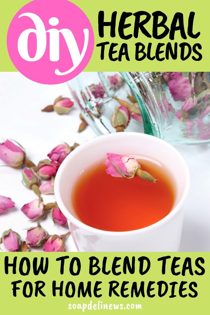 How to make custom herbal tea blends for natural home remedies for common illnesses and ailments Easy to customize DIY home remedies from natural herbs  botanicals Learn...