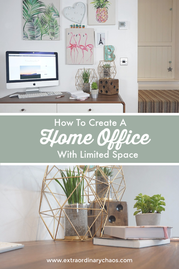 Creating A Home Office When You Have Limited Space House Styles Home Office Office Inspiration