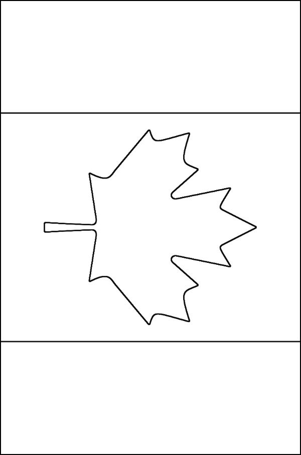 the best canadian flag coloring page http coloring alifiah biz