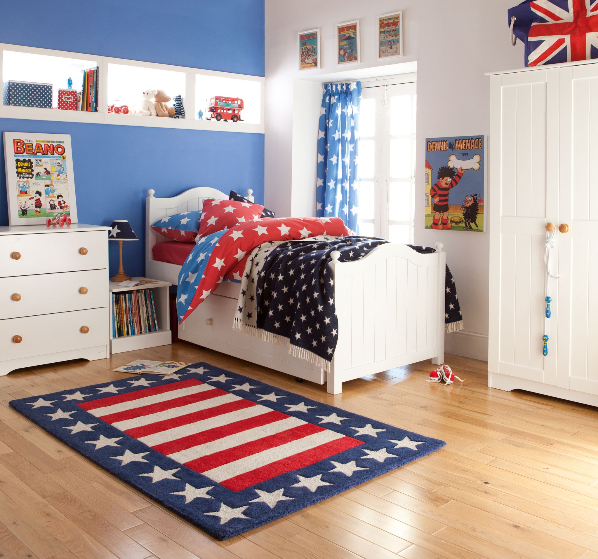 Fantastic Boys Bedroom Looks Like A Brilliant Place To Relax In Plus The Bed Has Storage Und