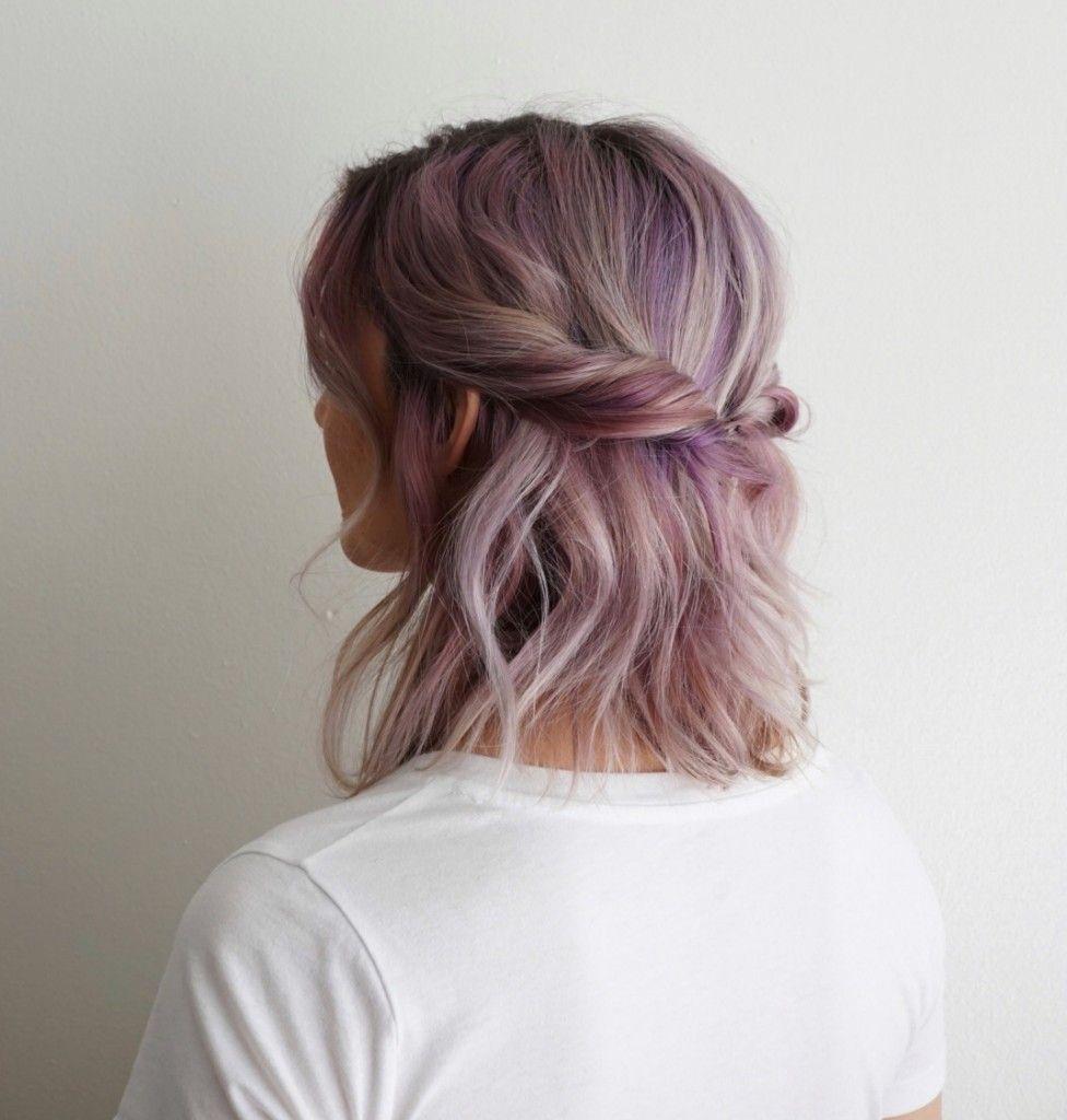Nice 5 möglichkeiten schulterlanges haar tragen frisuren