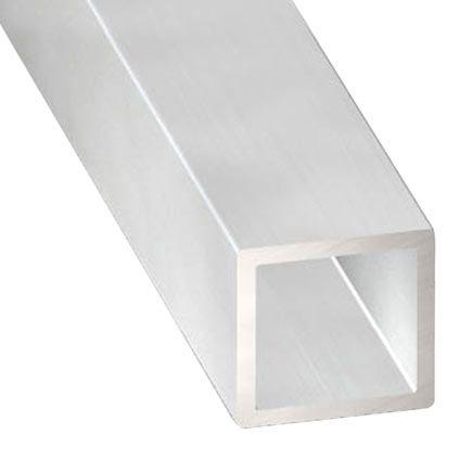 Perfil Forma Tubo Cuadrado De Aluminio En Bruto En Bruto Leroy Merlin Aluminio Anodizado Perfiles De Aluminio Aluminio