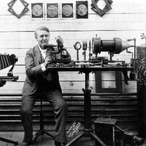 Thomas edison shows his first motion picture on october 6 for Edison home show