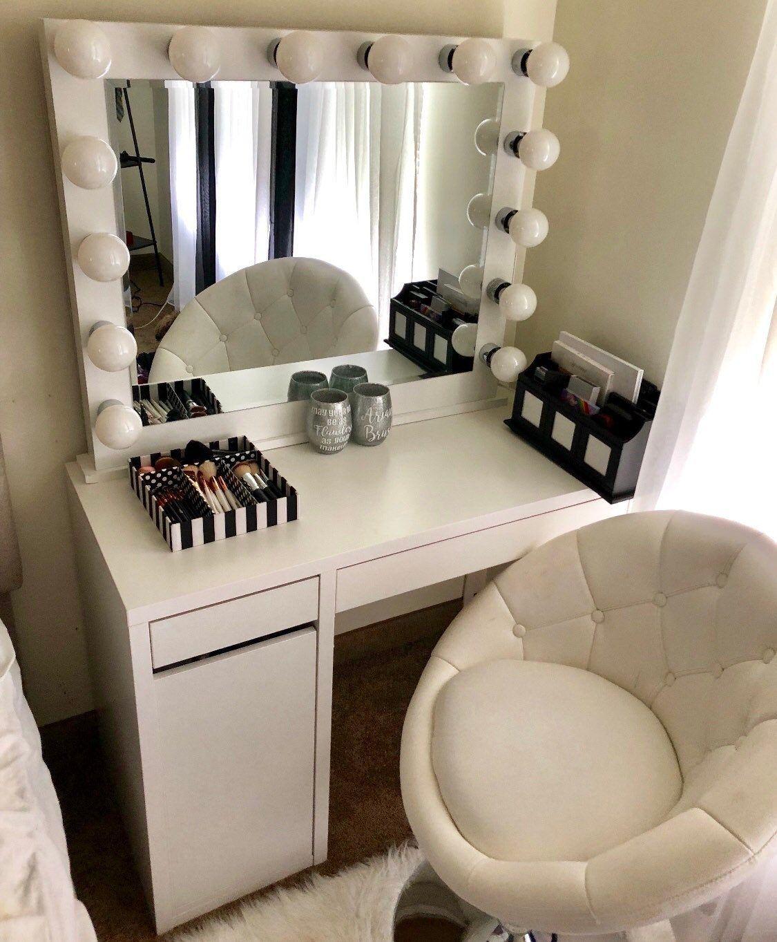 Low shipping & financing Hollywood Vanity Mirror Stylish