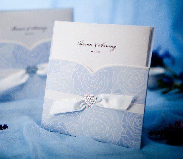 Customize Invitation Card Wedding Cards W1114 Wedding Favors