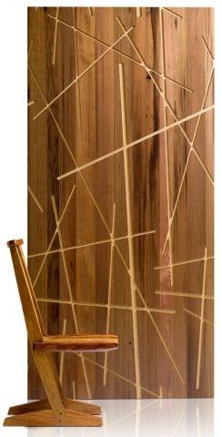 para paredes interiores en madera
