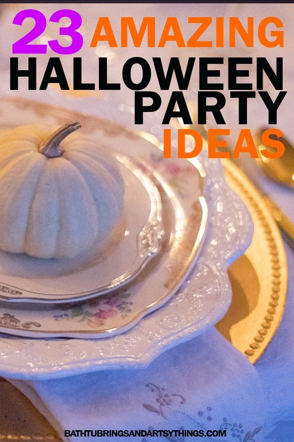 23 Amazing DIY Halloween Party Ideas *Belles That Love DIY - decorating for halloween party