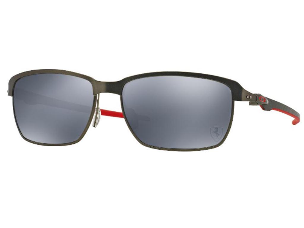 3bd53404fd4ef Óculos De Sol Oakley Tinfoil Carbon Ferrari polarizado OO6018 ...