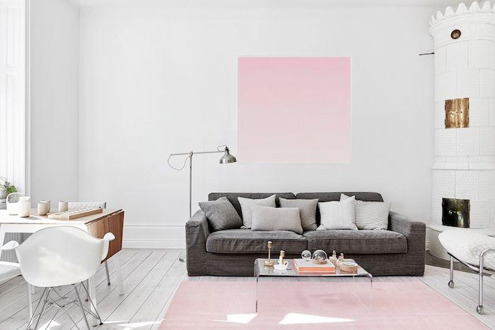 ▷ idées comment intégrer le rose pastel à la déco pink