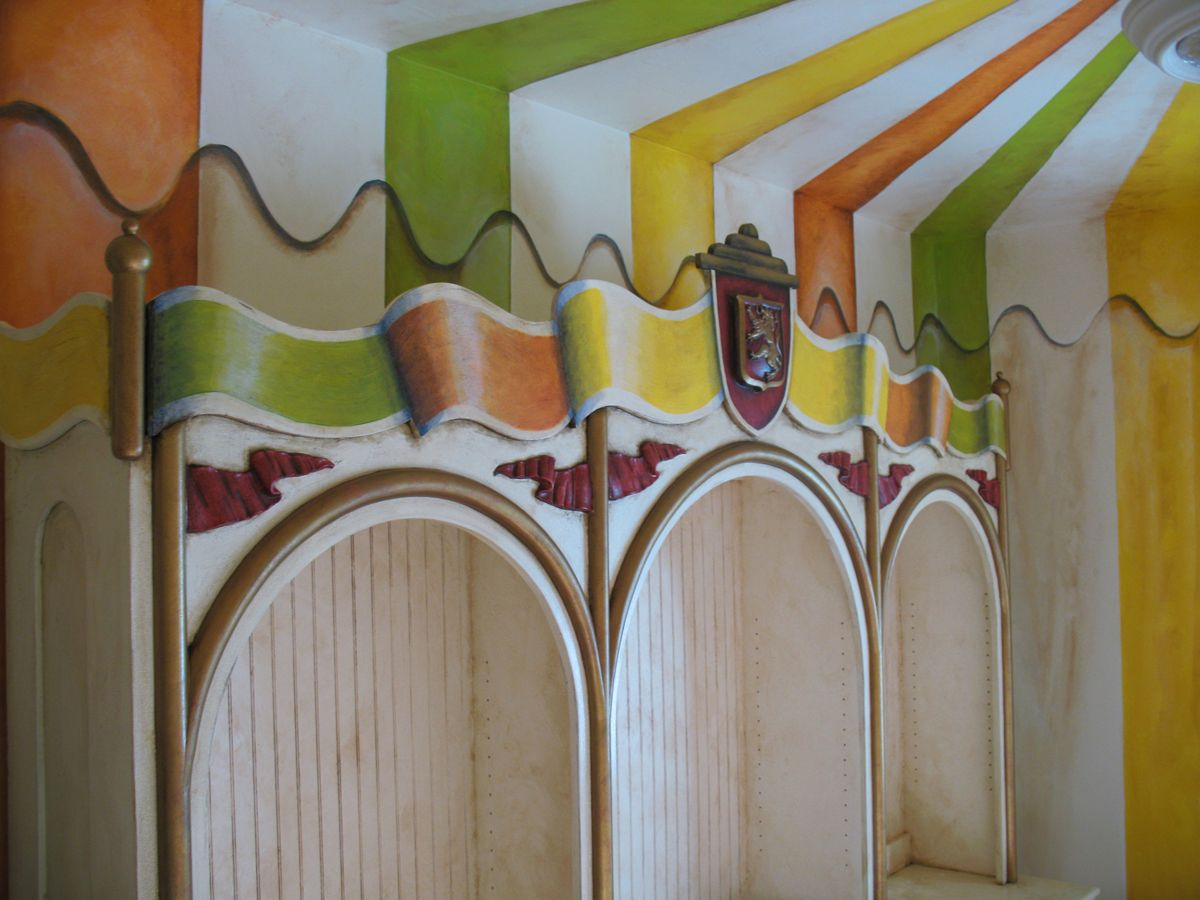colors for tent?? | Kids VINTAGE room | Pinterest | Circus room ...