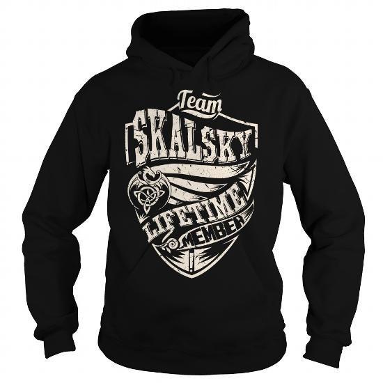 I Love Team SKALSKY Lifetime Member (Dragon) - Last Name, Surname T-Shirt T shirts