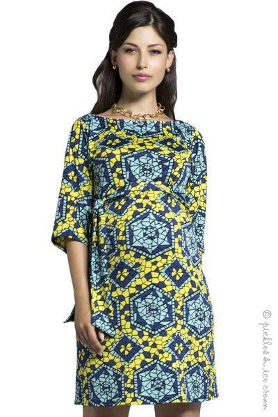 53191a973619 Leota Maternity Stain Glass Sheath Dress | Products | Maternity ...
