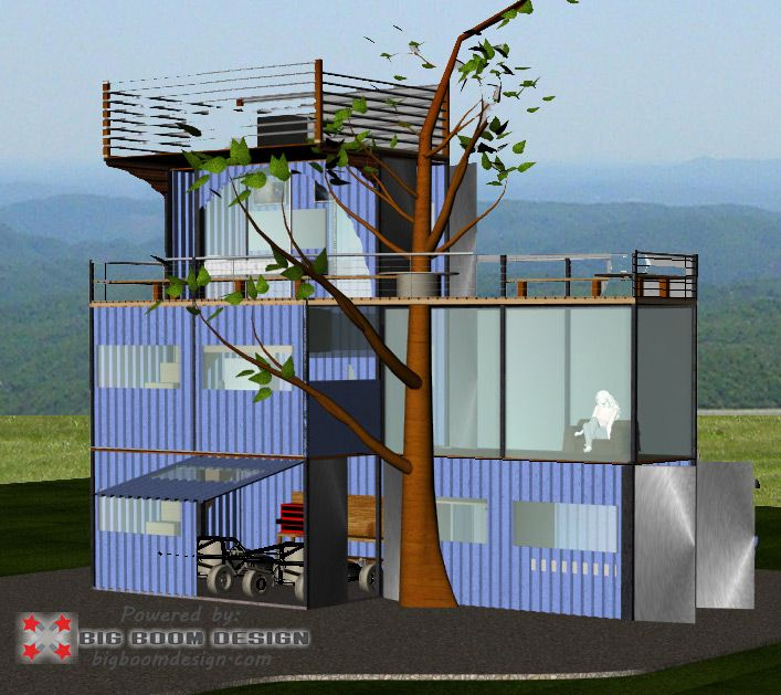 Shipping Container Home Design | Better living inside the box | Home on shipping container buildings, handmade houses, metal shop houses, storage container houses, shipping container cabin, shipping container mansion, homeless people houses, paper houses, shipping container apartments, small prefab houses, tiny tree houses, open houses, shipping boxes, frame houses, storage bin houses, 22 container houses,