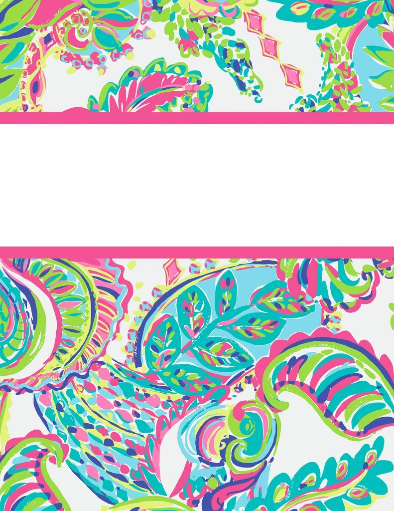 graphic about Free Printable Binder Covers Lilly Pulitzer titled Preppy Goes Back again in the direction of College a Fourth Season - Lilly Pulitzer
