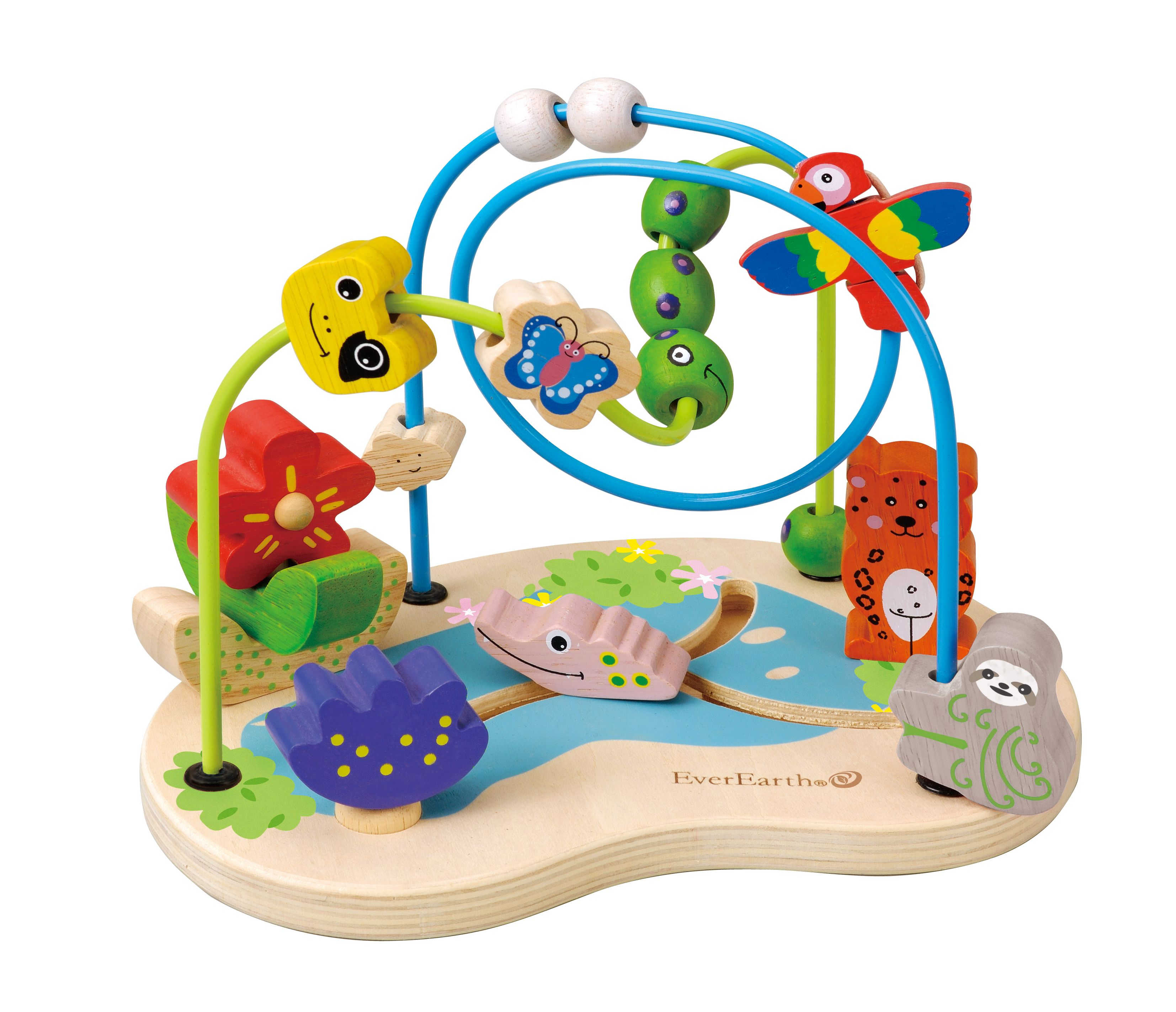 EverEarth Amazon Bead Wire Fun Educational baby toys