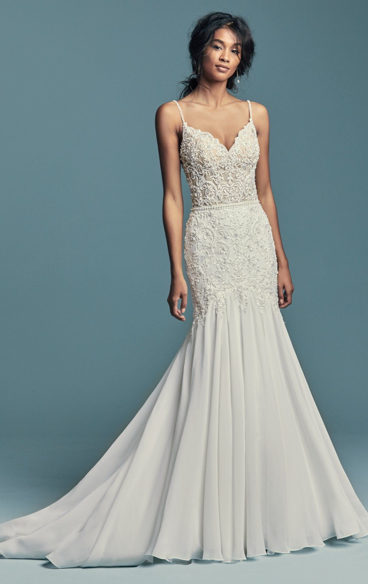Imani By Maggie Sottero Wedding Dresses Fit Flare Wedding Dress
