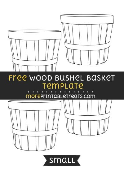 free bushel basket coloring pages - photo#13