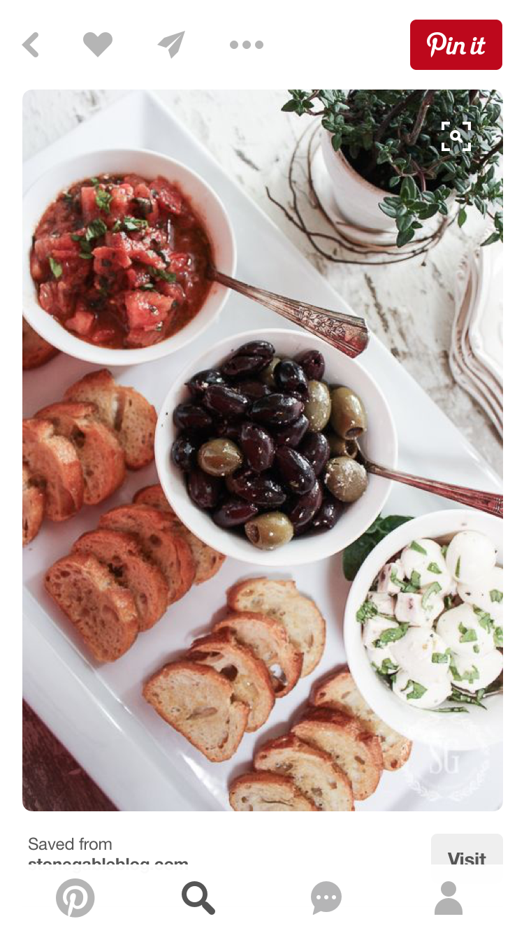 Party Snacks Dinner Recipes Etizers For Table