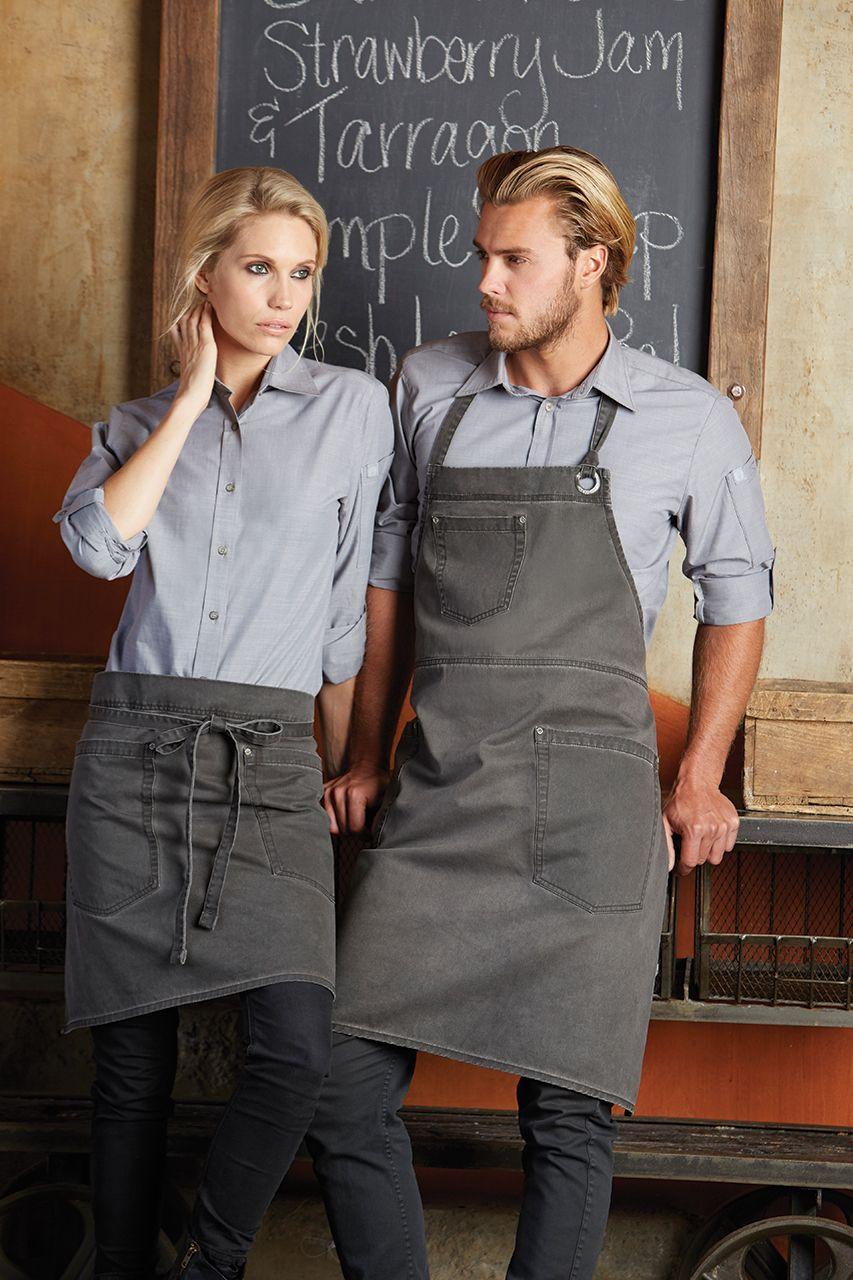 2c13ef89 Chambray Shirts from | uniforms | Waiter uniform, Cafe uniform ...