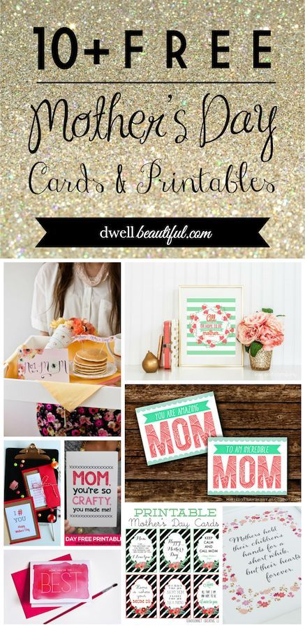 Free Mothers Day Cards and Printables