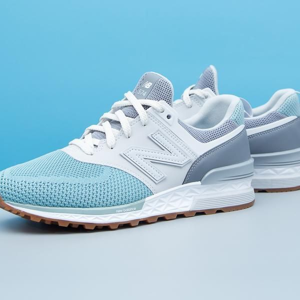 a8df0d899ca0 Color  Gunmetal with Storm Blue A modern interpretation of New Balance s  most iconic shoe