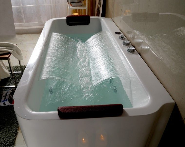 Source Simple Bathtub Multi Functions Whirlpools Massage Bathtub On M Alibaba Com Bathtub Cheap Bathtubs Luxury Bathroom Vanity