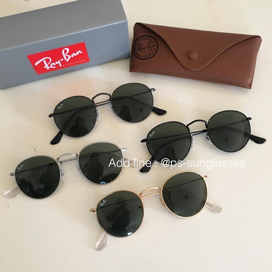 Rayban Round Metal RB3447 งาน Top mirror   Hiend 1 1 Size   50,53 mm Color 09bc29f2bd