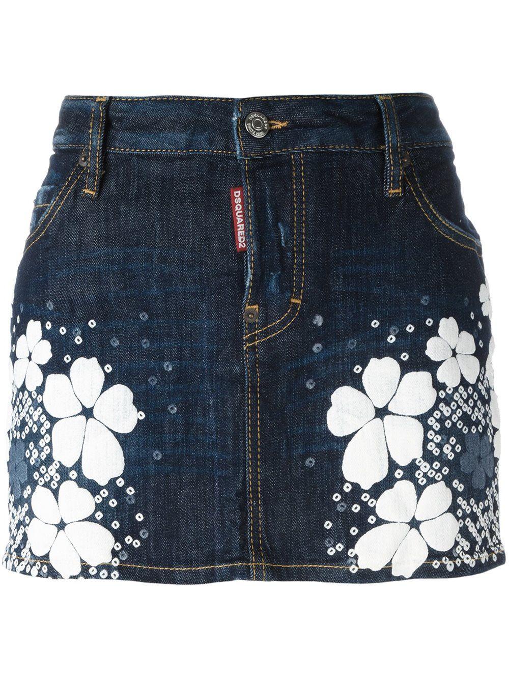 SKIRTS - Mini skirts Dsquared2 EhQ6gLbFx